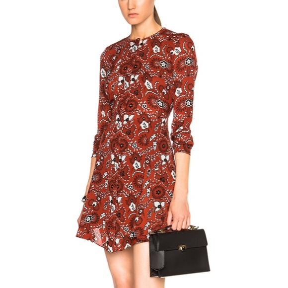 A.L.C. Dresses & Skirts - A.L.C. Randi Mini Dress Silk Shirtdress 4 💖💖